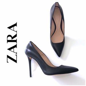 Zara Limited Edition High Heel Pointy Toe Heels